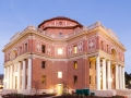 Atascadero City Hall by night