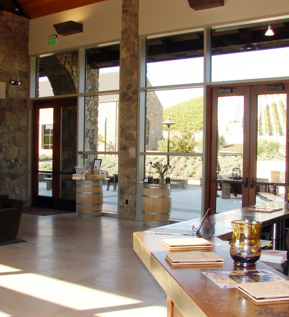 Ninery Winery - Hospitality Building Interior